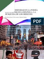 LA POSMODERNIDAD EN LA POESÍA CONTEMPORÁNEA ESPAÑOLA