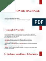 FONCTIONS DE HACHAGE