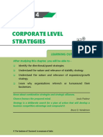 Chapter 4 Corporate Level Strategies