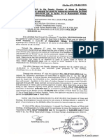 3.Temporary permit Approval for extraction of Boulder from Quarry From DDMG Anantapuram