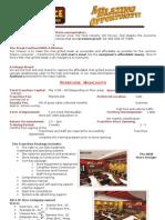 SND Franchise Information Handout 2010