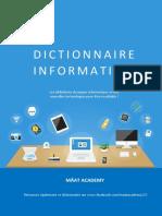 Dictionnaire informatique MAAT ACADEMY