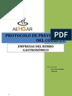 Protocolo Modelo COVID-19 Gastronómicos. Rev10 AEHGAR