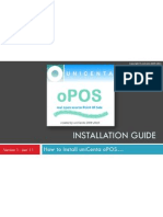uniCenta oPOS Installation Guide v1