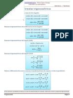 3. Razones, transformaciones y ecuaciones trigonométricas