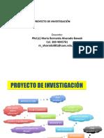 PROYECTOS DE INVESTIGACION