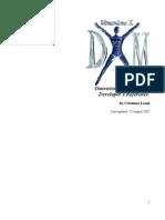 DimensioneX Developer's Reference