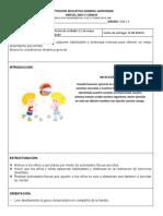 GUIA DE EDUCACION FISICA 1 GRADO 3