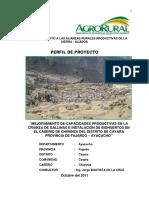 perfil del proyecto biohuerto