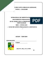 3° ESPAÑOLFORMATO GUIAS DE APOYO VIRTUAL COVID 2020- Abril - Mayo No resuelto.pdf
