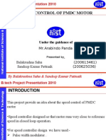 Project Pmdcmotor