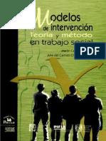 Modelos de Intervencion teoria y metodo en trabajo social