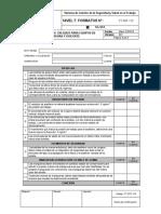 Formato Lista de Chequeo para Equipos de Soldadura y Oxicorte