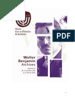 Dossier presse-Walter Benjamin