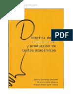 Didactica de la comprension de textos academicos