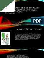 Dirección y Supervisión Escolar Perfil de la función directiva en México,