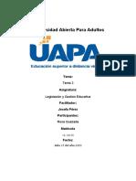 Tarea 3 de legislación y gestion educativa