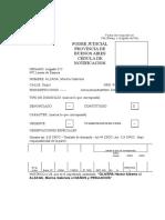 Formulario CEDULACivil y Comercial