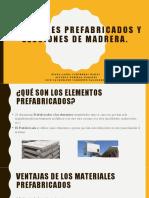 Materiales prefabricados. 2