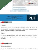MANEJO DE CADAVERES COVID 19 CON MODIFICATORIA