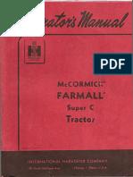 Farmall Super C manual