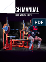Chad Wesley Smith Juggernaut Bench-Manual (2018)