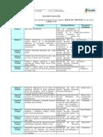 Plan de Clases y Evaluación de Desarrollo Psicomotor