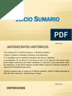 JUICIO SUMARIO DESAHUCIO