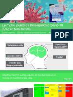 Ejemplos prácticos Bioseguridad Covid-19