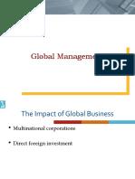 POM 008 Global Management