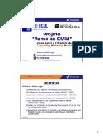 Odisnei Galarraga - Gestão de Projetos - PMI - Visão Geral e Estrutura do do CMM.pdf