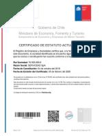 Certificado EstatutoActualizado