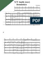 TUT 2m06 Armistice REV - Full Score