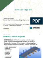 5D-Bridge - Finish Bridge BIM