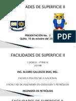 2019B FACILIDADES II, (2)Tuberías