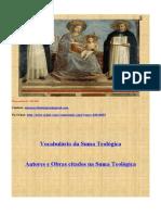 Vocabulário da Suma Teológica