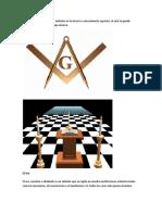 La G en el medio de ambos símbolos es la Gnosis o conocimiento superior