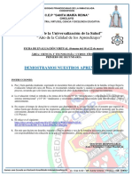 FÍSICA - 1º DE SECUNDARIA - FICHA DE EVALUACIÓN VIRTUAL 02