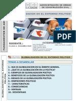 Exposición  - Globalizacion en el Ambito Politico  - Fundamentos de Administracion