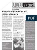 Wiesenhof Newsletter August 2007