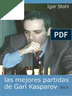 Las Mejores Partidas de Gary Kasparov Tomo II