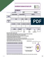 Solicitud de Reinscripción Irregular Licenciatura