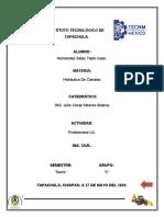 PROBLEMARIO DE HIDRAULICA DE CANALES U3