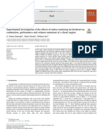 83 Experimental investigation of the effects of turkey rendering fat biodiesel on