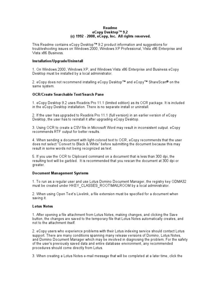 Readme   Ibm Notes   Printer (Computing)
