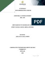 Actividad 4 Auditoria y control interno