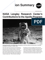 NASA Langley Research Center's Contributions to the Apollo Program