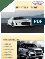 Brand Life Cycle Audi 3