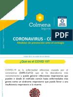COVID 19 MEDIDAS PREVENTIVAS