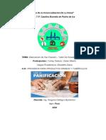INFORME Nº1  - PAN FRANCES  PRIMER PROCESO